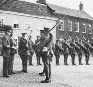Fife and forfar yeomanry at Fakenham